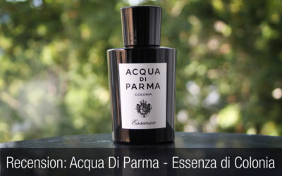 Parfym Recension: Acqua Di Parma – Essenza di Colonia