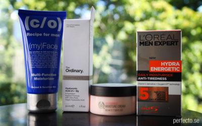 Guide till hudtyper och ansiktskrämer.