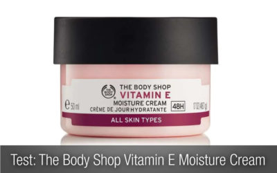 Test ansiktskräm: The Body Shop Vitamin E Moisture Cream
