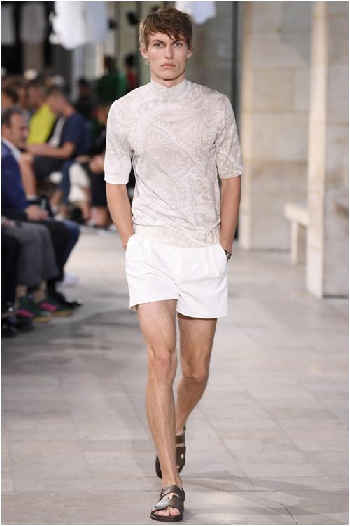 Herrmode 2019 Trender för män Shorts Hermes