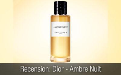 Recension Exklusiv Herrparfym: Christian Dior Ambre Nuit