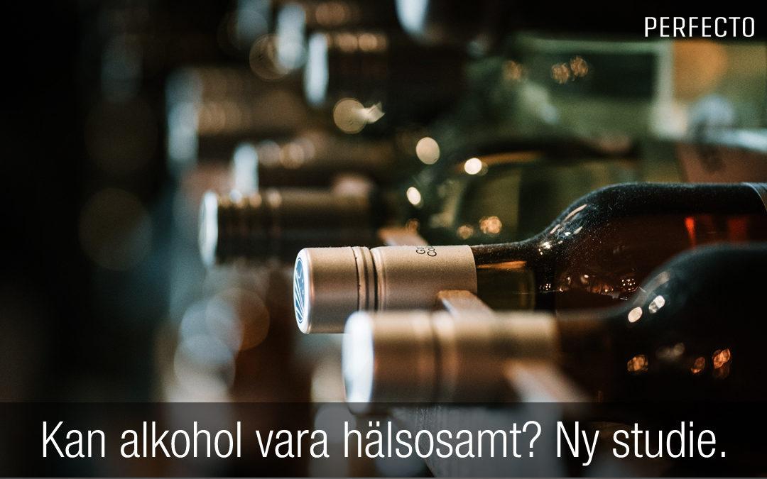 Kan alkohol vara hälsosamt? Studie säger NEJ.