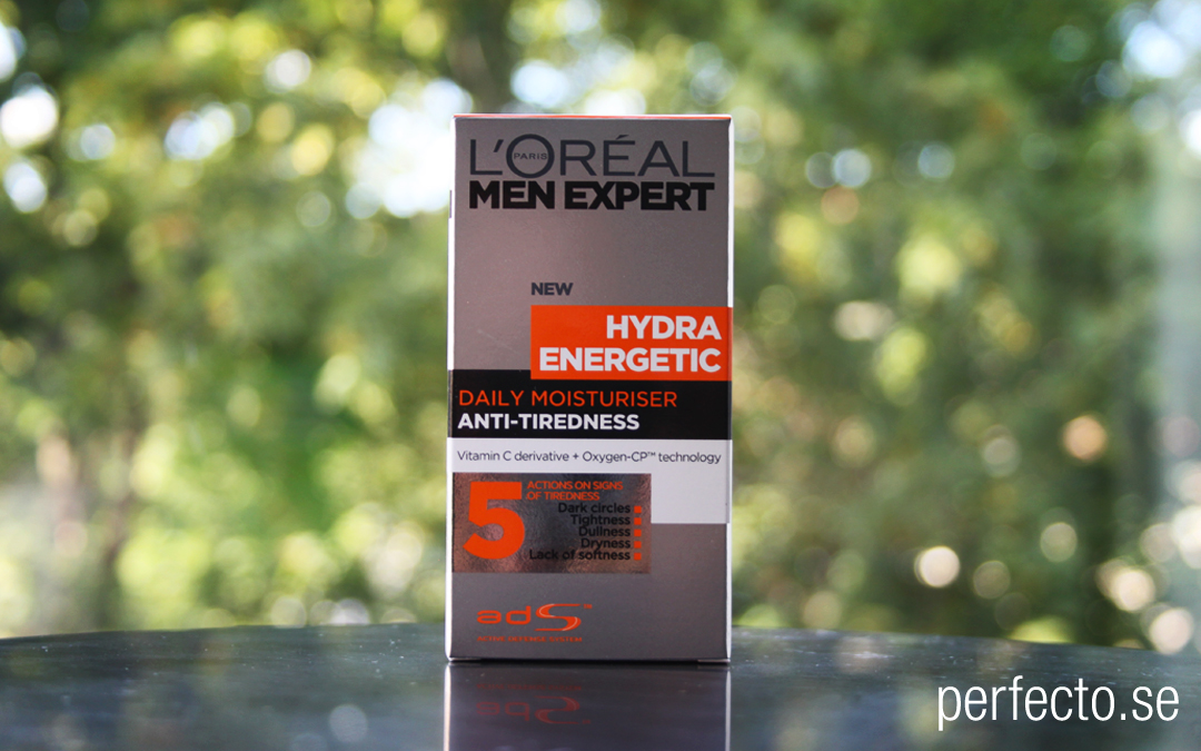 Test Ansiktslotion: L'Oréal Paris Men Expert Hydra Energetic Daily Moisturiser