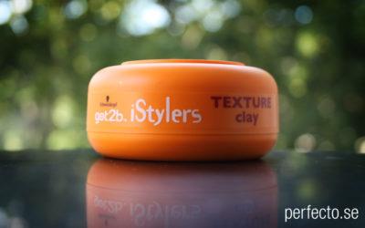 Test hårlera: Schwarzkopf got2b istylers texture clay