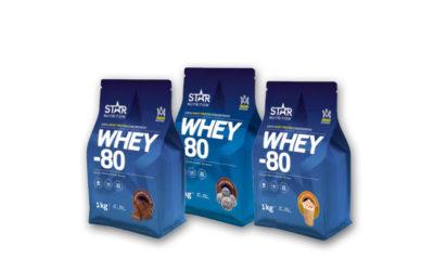 Recension: Whey-80 Protein från Star Nutrition – Bästa proteinpulvret i Sverige?