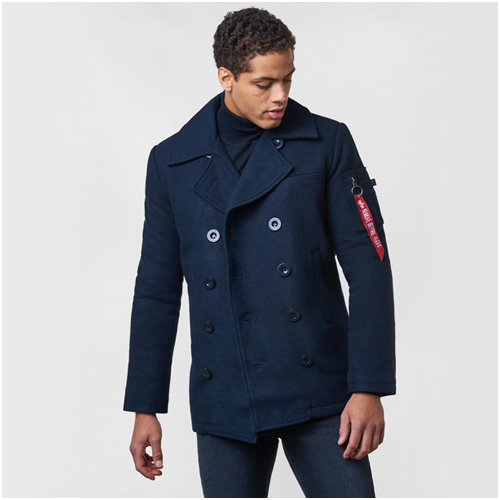 herr rock alpha industries Peacoat