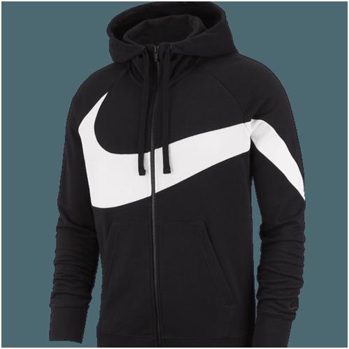 Snygg hoodie Nike Svart