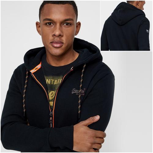 Snygga hoodies herr Superdry Svart
