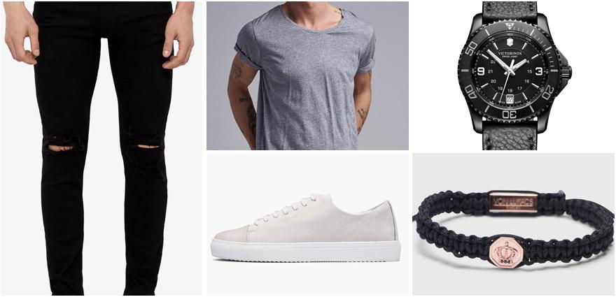 Svarta Jeans outfit rebellish