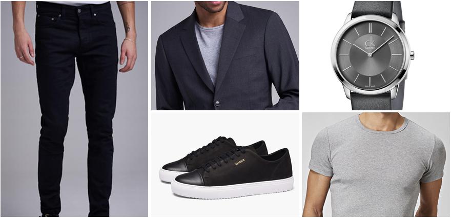 Svarta Jeans. Smart Casual.