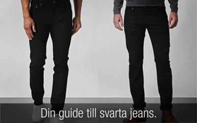 Svarta Jeans: Din guide till ett av garderobens mest mångsidiga plagg!