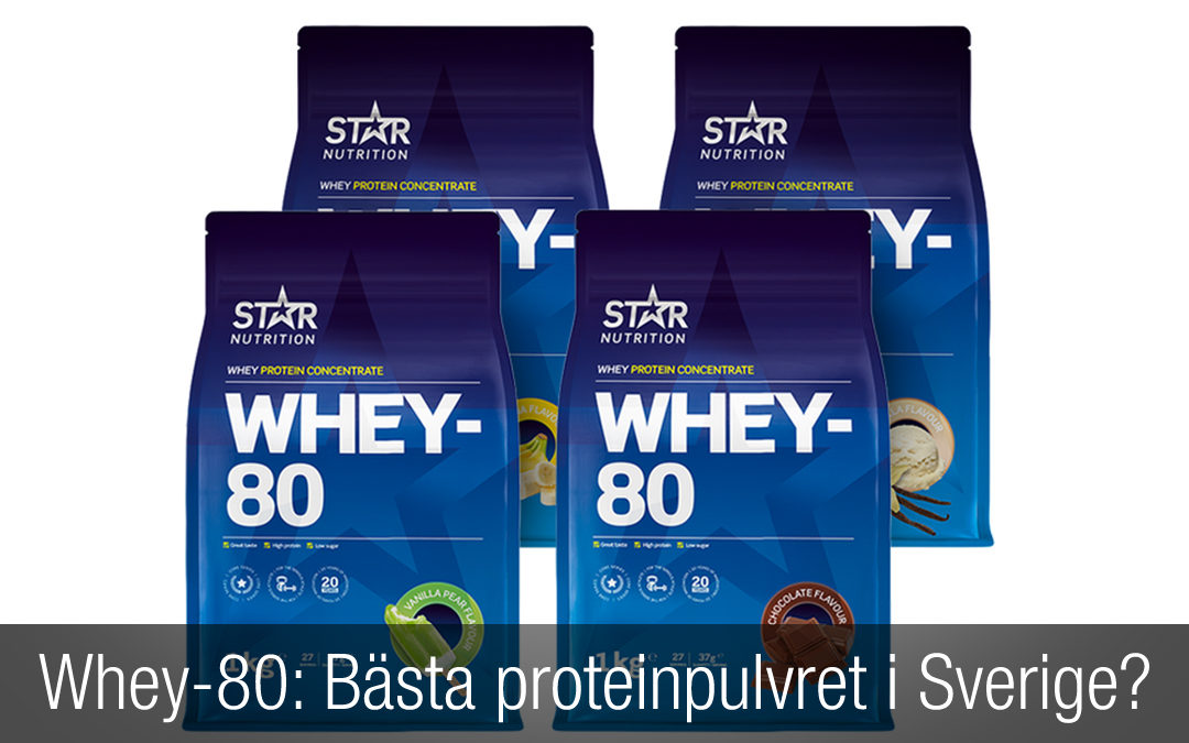 Whey 80 Recension