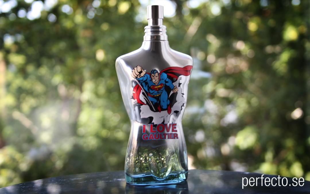 Recension parfym: Jean Paul Gaultier – Le Male Superman Eau Fraiche for men