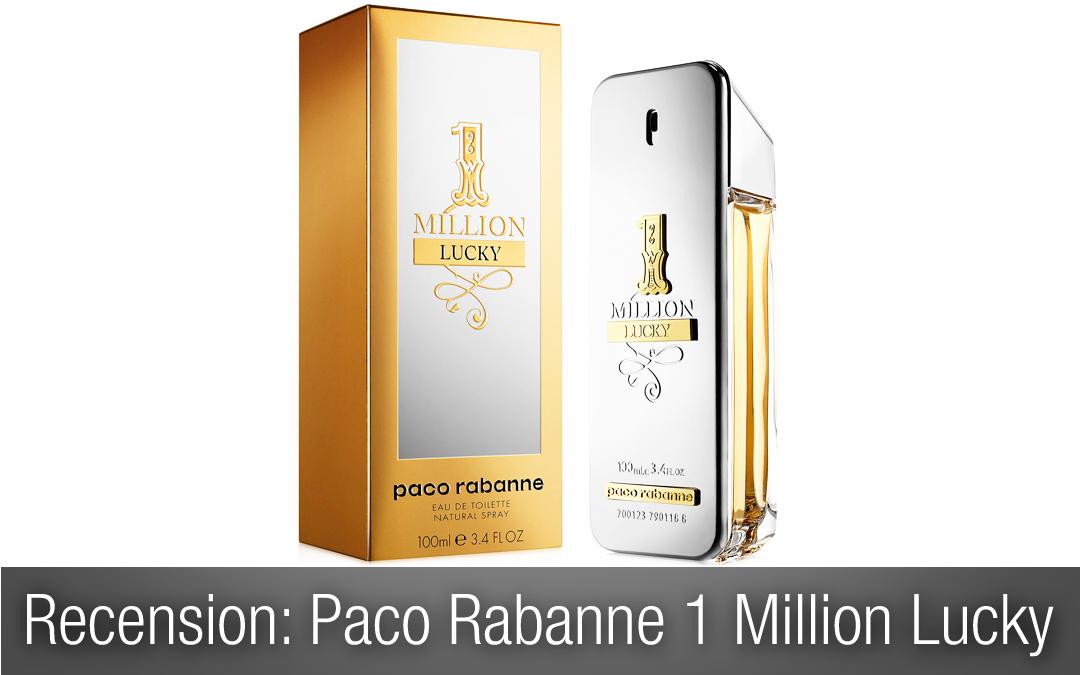 Recension herrparfym: Paco Rabanne One Million Lucky