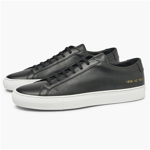 Höstkläder herr Svarta Sneakers Common Projects