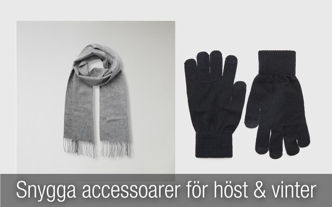 Snygga accessoarer för män med stil för hösten och vintern 2018.