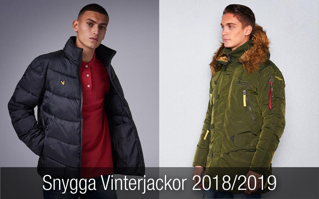 8 Snygga Vinterjackor För Herr 2018 och 2019