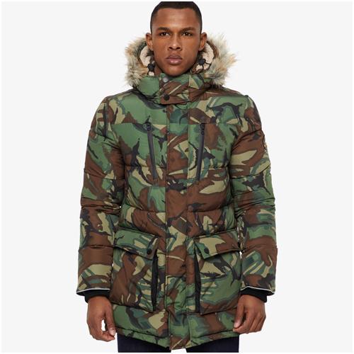 Vinterjacka herr Superdry Camouflage