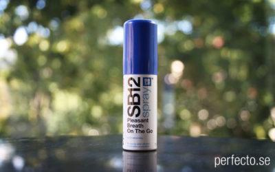 Recension: SB12 munspray mot dålig andedräkt.
