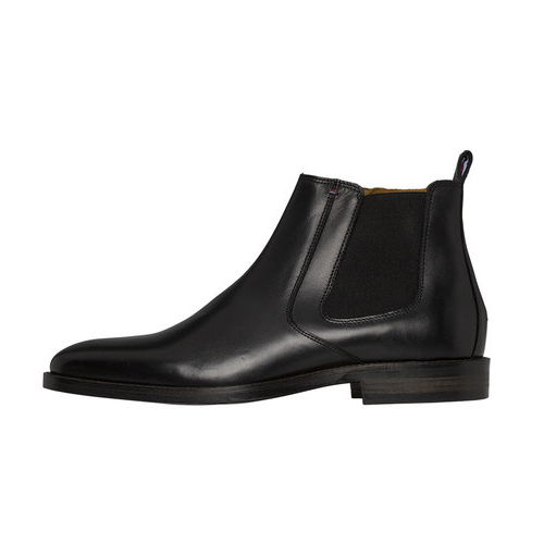 Chelsea boots herr läder Tommy hilfiger