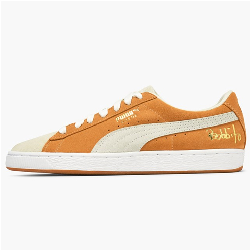 Herrmode trend orange sneakers puma