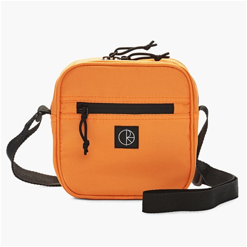 Herrmode trend orange cordura dealer bag