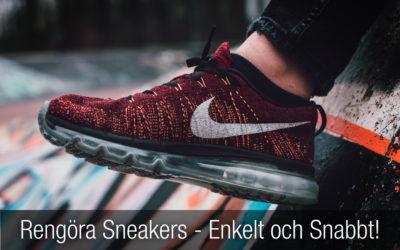 facbfd793819 Rengöra sneakers – en guide till hur du snabbt och enkelt håller dina  sneakers rena och