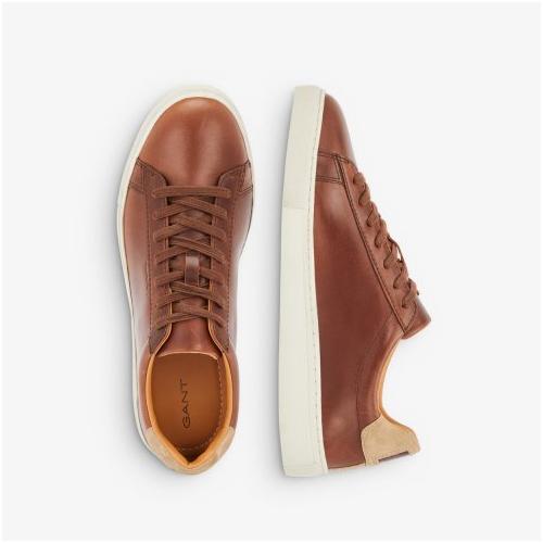 Gant sneakers herr Läder Konjak