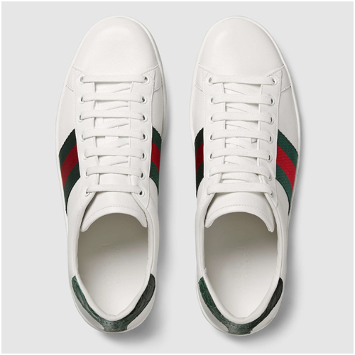 Gucci Sneakers herr Ace Leather