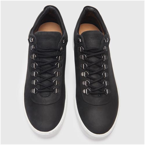 Sneakers herr nubuck svart Royal Republiq