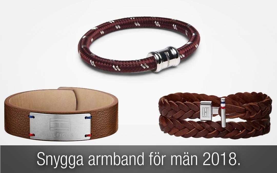 Snygga armband för män höst och vinter 2018!