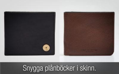 Plånbok herr i skinn – för dig som vill ha en snygg skinnplånbok!