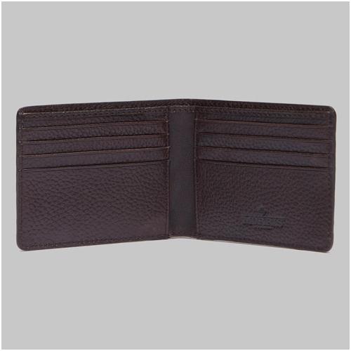 Plånbok herr skinn brun