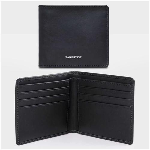 Sandqvist plånbok herr i skinn
