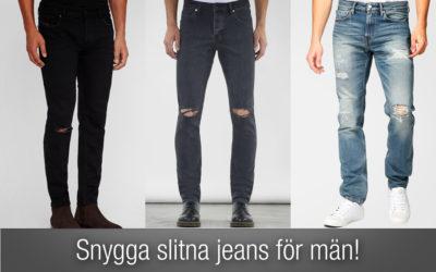 Slitna jeans herr – den BÄSTA listan på slitna jeans! Nytt för 2019.
