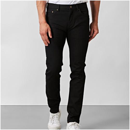Nyårskläder - svarta jeans herr East West