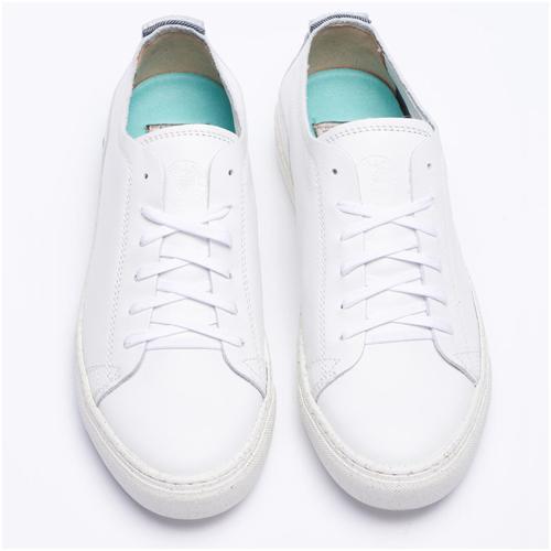 Snygga vita sneakers herr