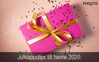 Julklappstips till henne 2020. Hitta en bra present till din flickvän!