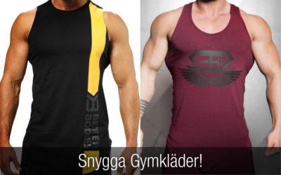 Snygga gymkläder herr – träningskläder för män som du inte får missa!