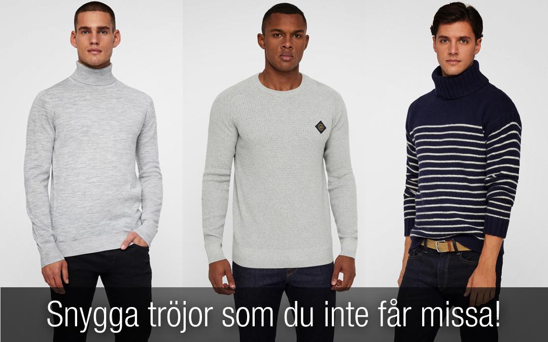 Snygga tröjor herr – listan på tröjor du INTE får missa!