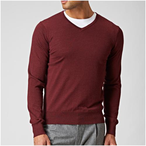 Röd tröja herr Riley
