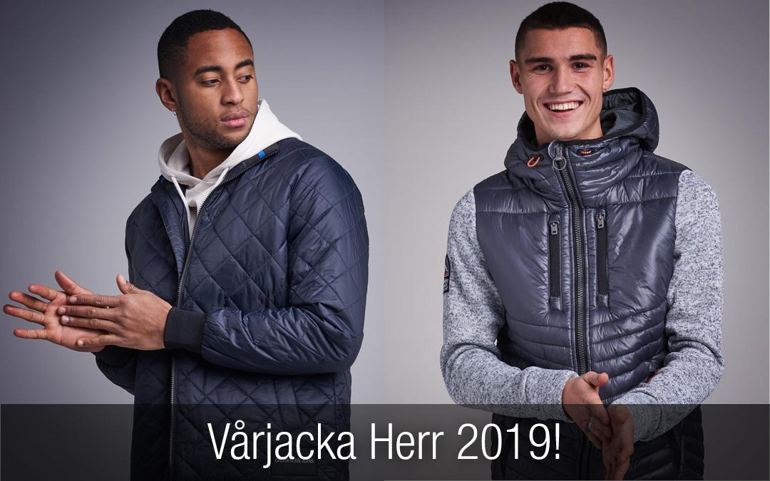 Vårjacka Herr 2019. Snygga trendiga jackor du inte får missa!