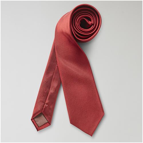 Röd Slips till mörkblå kostym