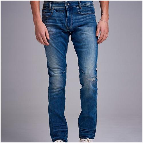 G-star Slitna blå jeans herr