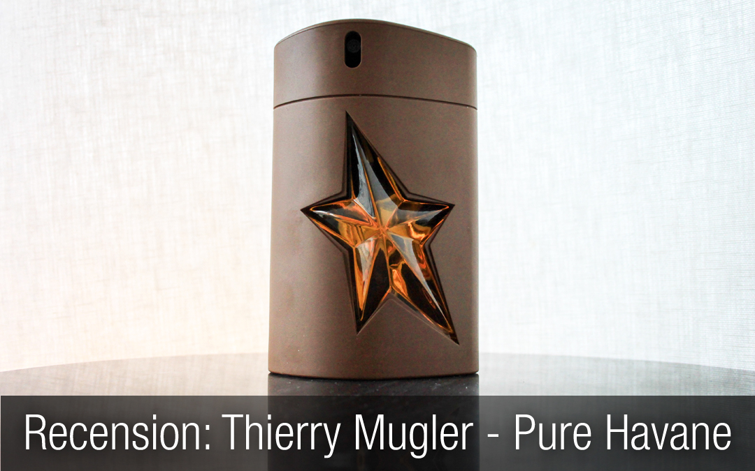 Thierry Mugler – A*Men Pure Havane herrparfym recension.