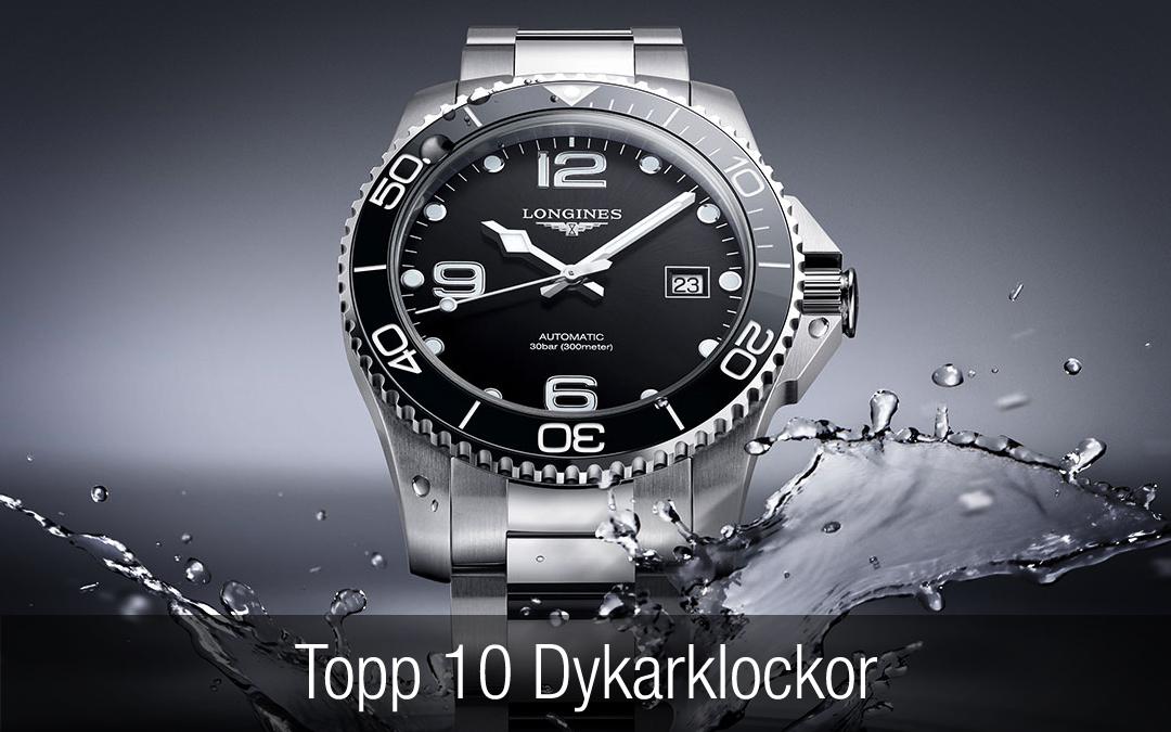 Topp 10 dykarklockor – i alla prisklasser.
