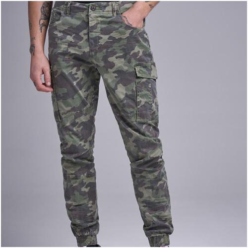 Cargo Byxor Camouflage William Baxter