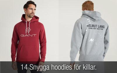 14 snygga hoodies för herrar!