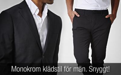 Monokrom klädstil för män: snygga outfits med svarta och vita kläder!