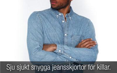 Sju sjukt snygga jeansskjortor för killar!